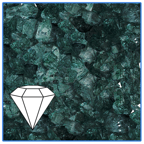 ROCK CANDY GEMS - BLACK