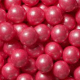 PINK GUMBALLS w/SHIMMER 2 LBS from Miami Candies Sweets & Snacks
