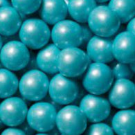 POWDER BLUE GUMBALLS w/SHIMMER 2 LBS from Miami Candies Sweets & Snacks