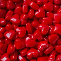 MINIATURE CANDIES - RED HEARTS