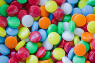 MINIATURE CANDIES - SOUR CANDY DOTS