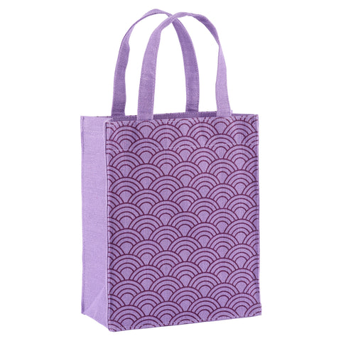 Violet Scales Fabric Reusable Gift Bag by Illumen