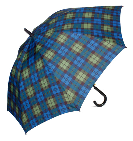 Black Watch Straight Umbrella - Chantam - Beautifully designed Tartan and Harris Tweed handbags and accessories