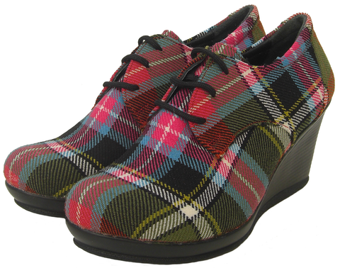 Bruce of Kinnaird Boots/Shoes - Chantam - Beautifully designed Tartan and Harris Tweed handbags and accessories