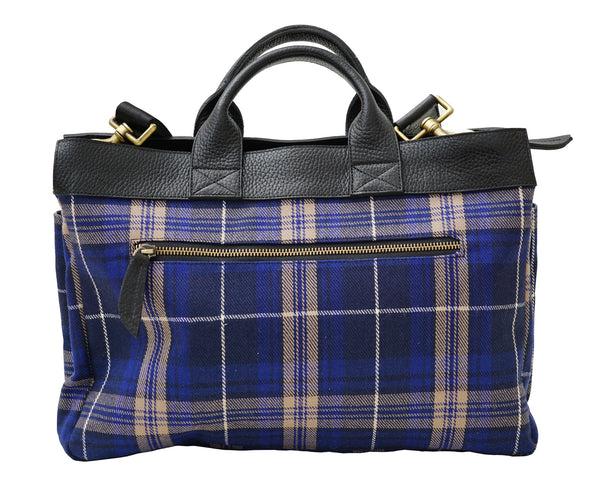 Mens Welsh Rees Tartan Handbag - Chantam - Beautifully designed Tartan and Harris Tweed handbags and accessories