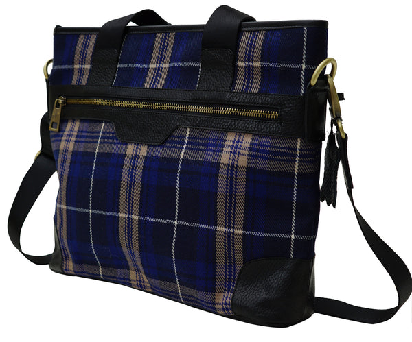 Mens Tartan handbag Welsh Rees - Chantam - Beautifully designed Tartan and Harris Tweed handbags and accessories