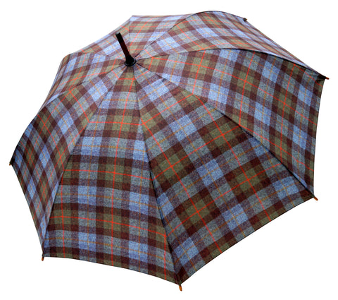ST McLeod Tartan tweed Pattern Umbrella Pongee Fabric - Chantam - Beautifully designed Tartan and Harris Tweed handbags and accessories