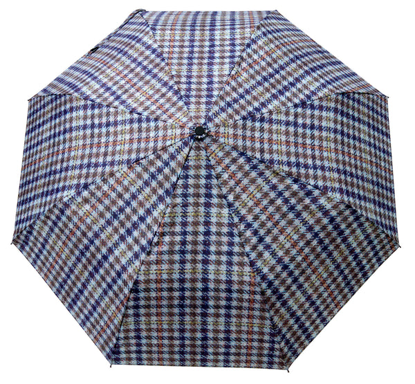 HT SC Beige Umbrella - Chantam - Beautifully designed Tartan and Harris Tweed handbags and accessories
