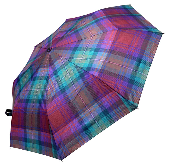 Isle of Skye Tartan Umbrella - Chantam - Beautifully designed Tartan and Harris Tweed handbags and accessories
