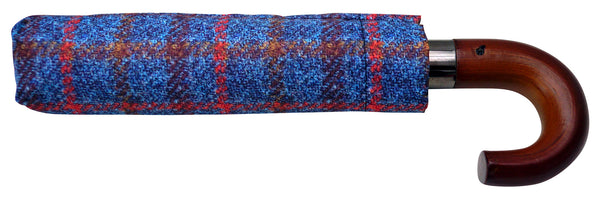 HT Navy SC - Chantam - Beautifully designed Tartan and Harris Tweed handbags and accessories