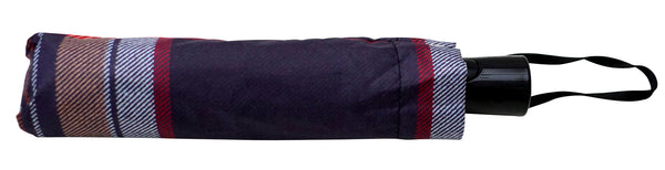 Stewart Navy Umbrella - Chantam - Beautifully designed Tartan and Harris Tweed handbags and accessories
