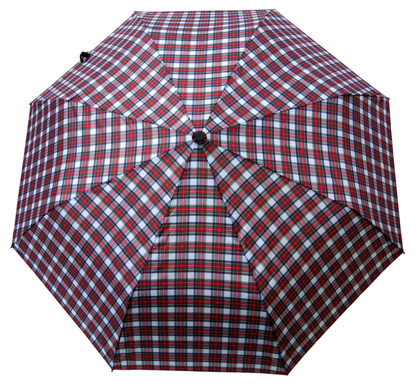 Stewart Dress Tartan Umbrella - Chantam - Beautifully designed Tartan and Harris Tweed handbags and accessories