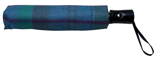 Tartan Umbrella Black Watch - Chantam - Beautifully designed Tartan and Harris Tweed handbags and accessories