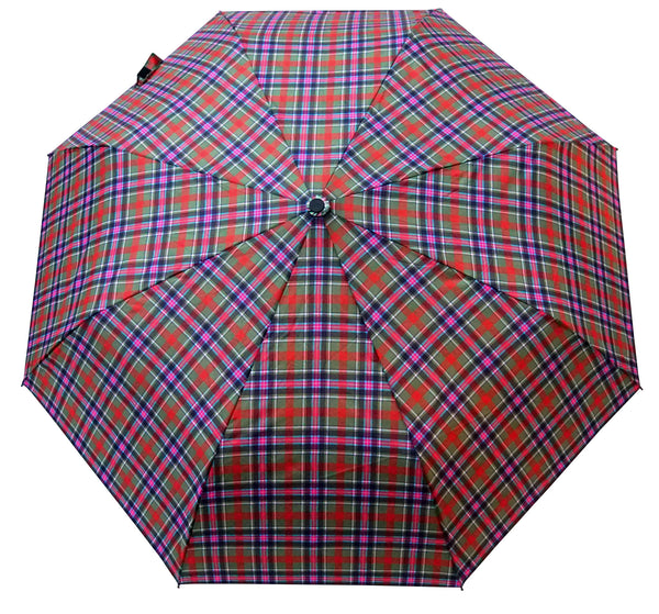 Bruce of Kinnaird Tartan Umbrella - Chantam - Beautifully designed Tartan and Harris Tweed handbags and accessories