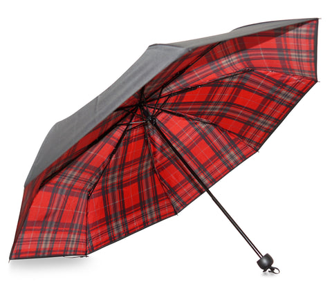Harris Tartan Welsh Umbrella - Chantam - Beautifully designed Tartan and Harris Tweed handbags and accessories