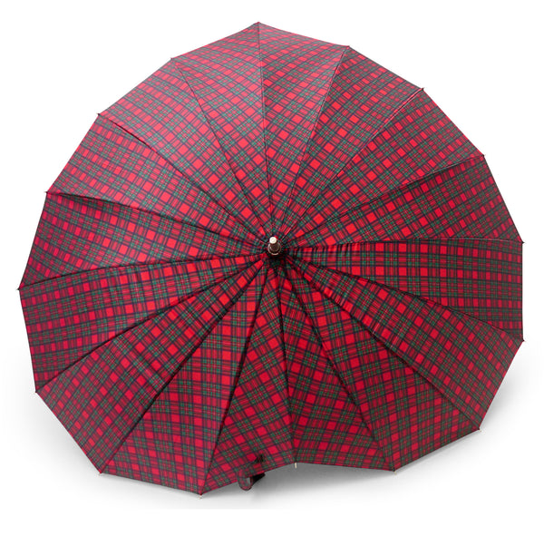 Heart Shape Royal Stewart Tartan Umbrella - Chantam - Beautifully designed Tartan and Harris Tweed handbags and accessories