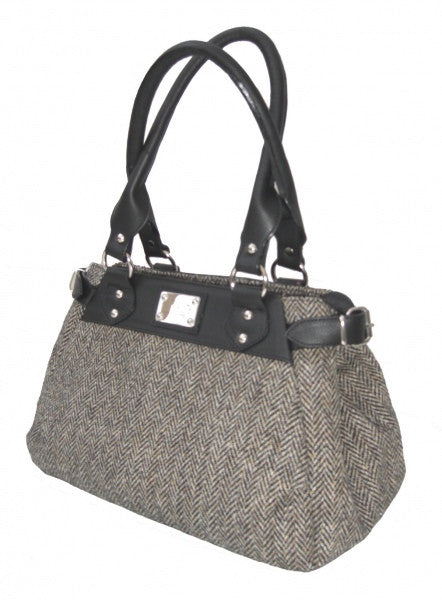 Harris Tweed Handbag (code:Melissa-HT02) - Chantam - Beautifully designed Tartan and Harris Tweed handbags and accessories