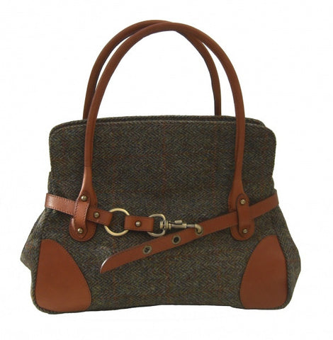 Harris Tweed Handbag (code:Rosie-HT-03.02) - Chantam - Beautifully designed Tartan and Harris Tweed handbags and accessories