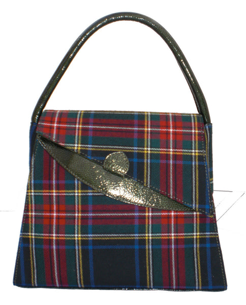 Menzies Tartan Lucy Handbag - Chantam - Beautifully designed Tartan and Harris Tweed handbags and accessories