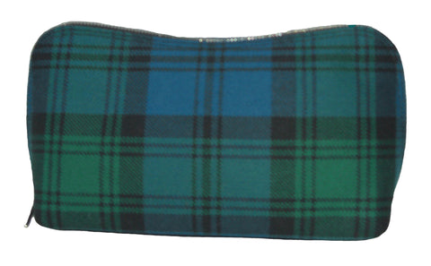 Campbell Tartan Make Up Bag - Chantam - Beautifully designed Tartan and Harris Tweed handbags and accessories