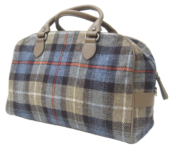 Harris Tweed  Overnight Handbag SC Beige - Chantam - Beautifully designed Tartan and Harris Tweed handbags and accessories