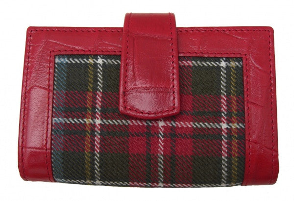 Steward Dress Tartan Purse02 - Chantam - Beautifully designed Tartan and Harris Tweed handbags and accessories