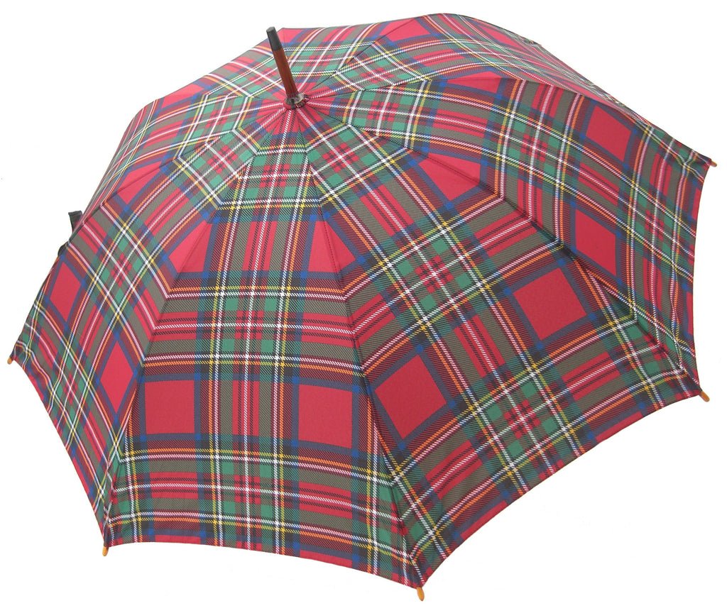 Royal Stewart Tartan Umbrella - Chantam - Beautifully designed Tartan and Harris Tweed handbags and accessories