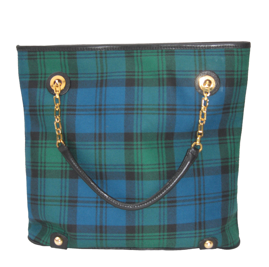 Campbell Tartan Handbag Sally - Chantam - Beautifully designed Tartan and Harris Tweed handbags and accessories