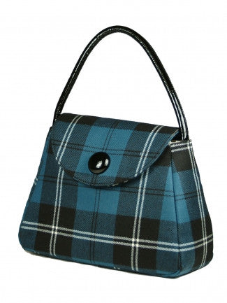 Sarah Tartan Handbag - Chantam - Beautifully designed Tartan and Harris Tweed handbags and accessories