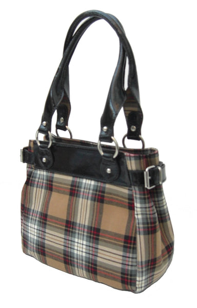 Forsyth Tartan Handbag Sophie - Chantam - Beautifully designed Tartan and Harris Tweed handbags and accessories