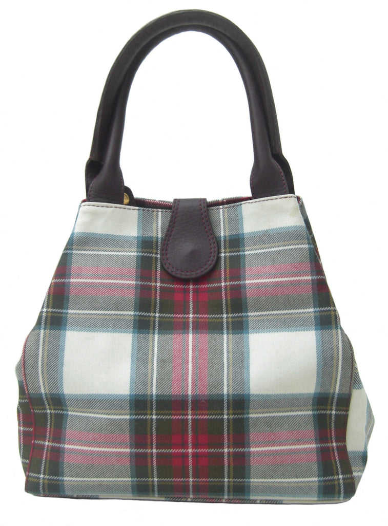 Stewart Dress Tartan Handbag Zara - Chantam - Beautifully designed Tartan and Harris Tweed handbags and accessories