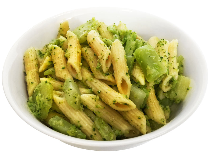 Penne Pasta with Broccoli, Garlic, and Cheese