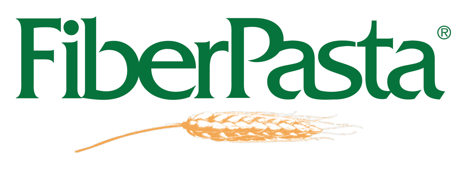 FiberPasta logo low-glycemic index pasta ideal for weight loss and for diabetic people
