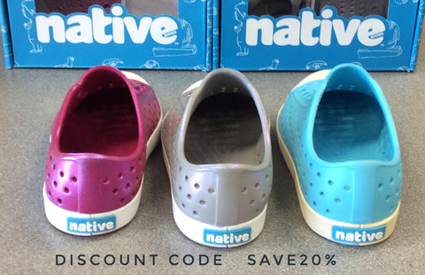 20% OFF All NATIVE SHOES