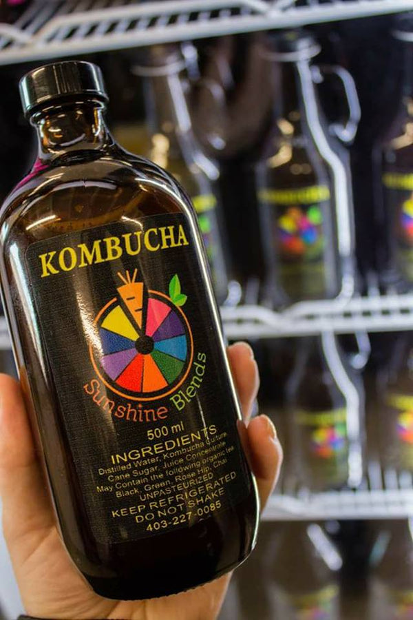 Sunshine Blends Kombucha