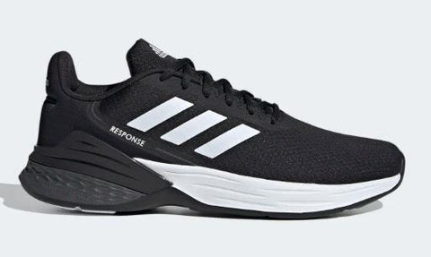 Adidas Response Mens Running Shoe Black-White | Sneakers Plus