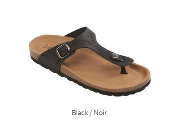 Biotime Brooke Womens Sandal Black | Sneakers Plus