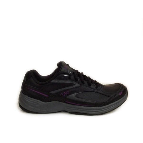 Ryka Sportwalker 6 Womens Walking Shoe Black/Grey |Sneakers Plus