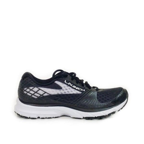 Brooks Launch 3 Womens Black/White |Sneakers Plus