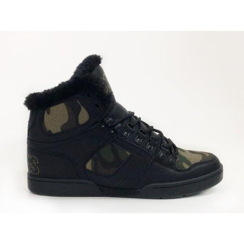 Osiris NYC83 Shearling Mens Winter Shoe Camo |Sneakers Plus