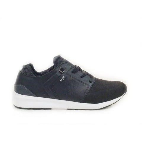 Levis Black Tab Runner Mens Running Shoes Black |Sneakers Plus