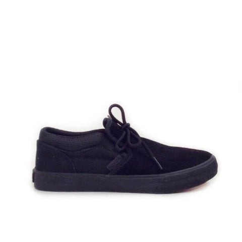 Supra Cuba Mens Slip On Shoe Black/Black |Sneakers Plus