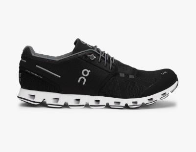 ON Cloud Womens Running Shoe Black/White |Sneakers Plus