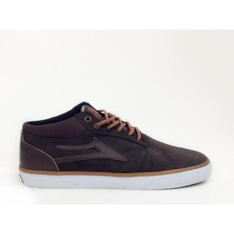 Lakai Griffin Mid AW Coffee Oiled Suede - Sneakers Plus