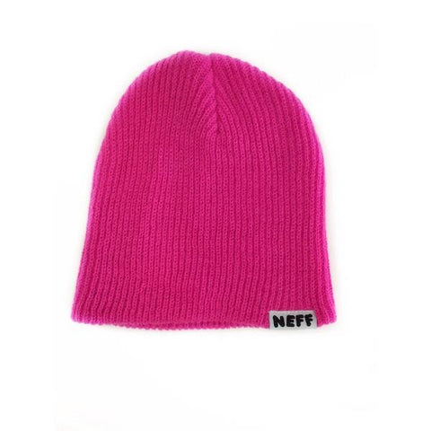 Neff Daily Kids Beanies Pink | Sneakers Plus