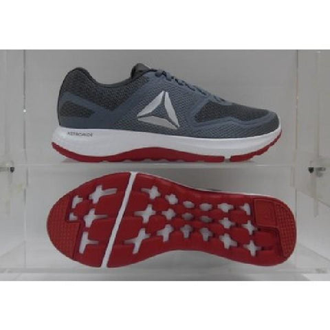 Reebok Astroride Duo Mens Running Shoe Grey/Red |Sneakers Plus