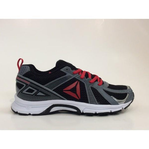 Reebok Runner Kids Running Shoe Black/Red |Sneakers Plus
