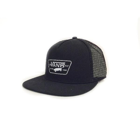 Vans Chain Patch Trucker Mens Black |Sneakers Plus