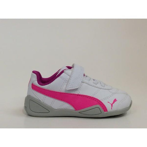 Puma Tune Cat 3 Toddler White/Pink |Sneakers Plus