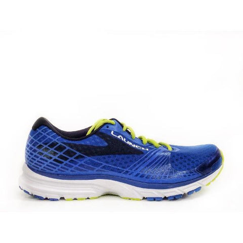 Brooks Launch 3 Mens Blue/Lime |Sneakers Plus